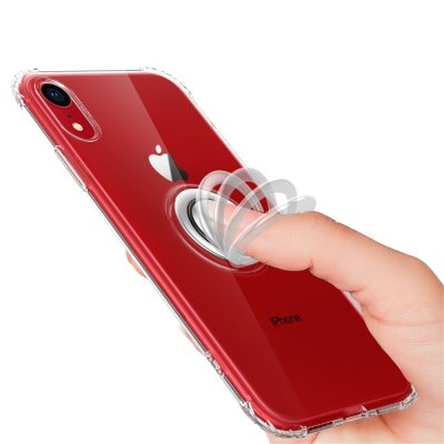 Drop Proof Finger Ring Protective Phone Case for iPhone XR